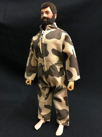 ELITE BRIGADE - AT Style Jumpsuit Amoeba Camo to fit Action Man/Gi Joe Adventure Team etc (1)